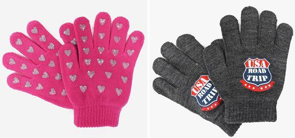 Accessori moda inverno: guanti per bambini